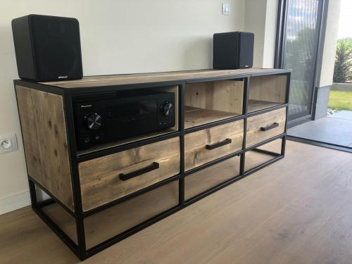 Tv-meubel Steigerhout Destelbergen